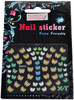 Berkeley Multi-Colored Butterfly 3D Nail Decal