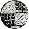 Pueen Image Plate Pueen #71: Assorted, Diamonds, Dots