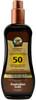 Australian Gold SPF 50 Spray Gel Sunscreen with Instant Bronzer (8 fl. oz. / 237 mL)