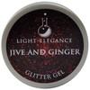 Light Elegance Jive and Ginger Glitter Gel (UV / LED Gel)