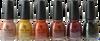 China Glaze 6 pc Autumn Spice Collection