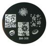 Bundle Monster Image Plate #BM-308: Full Nail, Food, Cupcake, Doughnut