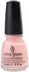 China Glaze Innocence nail polish