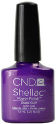 CND Shellac Grape Gum