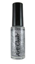 Silver Glitter by Art Club