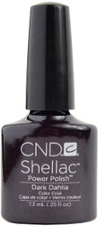 CND Shellac Dark Dahlia (UV Polish)