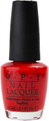OPI Big Apple Red nail polish