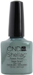 CND Shellac Sage Scarf (UV Polish)