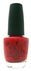 OPI Color So Hot It Berns nail polish