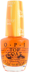 OPI I'm Never Amberrassed (Sheer Tint Topcoat)