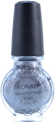 Konad Nail Art Powdery Silver (Special Polish)