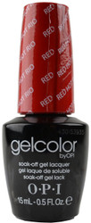 OPI GelColor Red Hot Rio (UV / LED Polish)