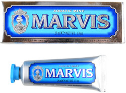 Marvis Aquatic Mint Travel Size Toothpaste (1.3 fl. oz. / 25 mL)