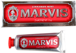 Marvis Mint Cinnamon Toothpaste Travel Size Toothpaste (1.3 fl. oz. / 25 mL)