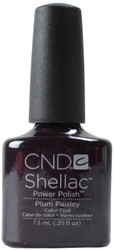 CND Shellac Plum Paisley (UV / LED Polish)