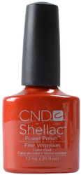 CND Shellac Fine Vermillion (UV / LED Polish)