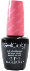 OPI GelColor Hotter Than You Pink (UV / LED Polish)
