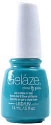 Gelaze Turned Up Turquoise (UV / LED Polish)