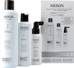 Nioxin #1 Hair System Kit - Normal To Thin-Looking, Fine Hair ()