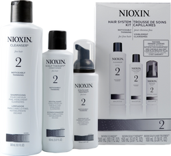 Nioxin #2 Hair System Kit - Noticeably Thinning, Fine Hair ()