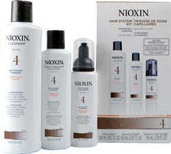 Nioxin #4 Hair System Kit - Chemically Treated, Noticeably Thinning, Fine Hair ()