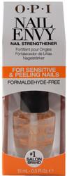 OPI Nail Envy Nail Strengthener For Sensitive & Peeling Nails (0.5 fl. oz. / 15 mL)