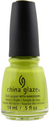 China Glaze Trip Of The Lime Time