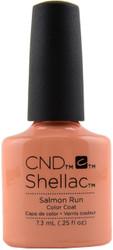CND Shellac Salmon Run (UV Polish)