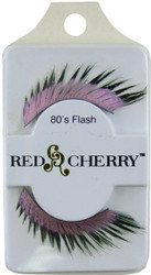 Red Cherry Lashes #80's Flash Red Cherry Lashes