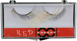 Red Cherry Lashes #F White Red Cherry Lashes