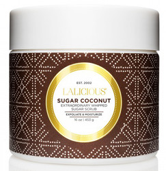 Lalicious Medium Sugar Coconut Extraordinarily Whipped Sugar Scrub (16 oz. / 453 g)