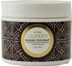Lalicious Small Sugar Coconut Extraordinary Whipped Sugar Scrub (2 oz. / 56 g)