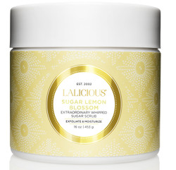 Lalicious Medium Sugar Lemon Blossom Extraordinarily Whipped Sugar Scrub (16 oz. / 453 g)