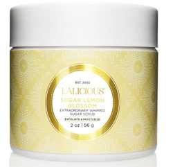Lalicious Small Sugar Lemon Blossom Extraordinarily Whipped Sugar Scrub (2 oz. / 56 g)
