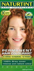 Naturtint 8C Copper Blonde Organic Permanent Hair Colorant (5.98 fl. oz. / 170 mL)