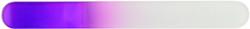 Berkeley Large Crystal Glass Nail File (Purple)