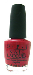OPI Opi Red nail polish