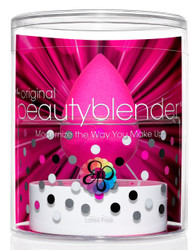 Beauty Blender Single Sponge & 1 oz. Solid Blender Cleanser Set
