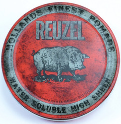 Reuzel Water Soluble High Sheen Pomade (4 oz. / 113 g)