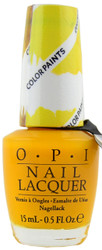 OPI Primarily Yellow Color Paint (Blendable)
