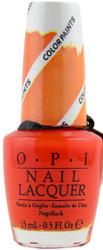 OPI Chromatic Orange Color Paint (Blendable)