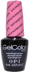 OPI Gelcolor Suzi Shops & Island Hops (UV / LED Polsih)