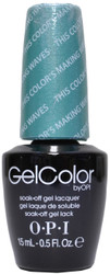 OPI Gelcolor This Color's Making Waves (UV / LED Polsih)