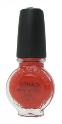 Dark Orange (Special Polish) by Konad Nail Stamping
