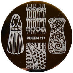 Image Plate Pueen #117: Clothing, Dresses, Full Nail