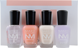 Zoya 4 pc Naked Manicure Women's Nail Perfecting Kit