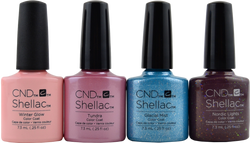 4 pc CND Shellac Aurora Collection
