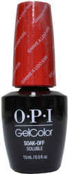 OPI Gelcolor Gimme a Lido Kiss (UV / LED Polish)