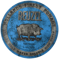 Reuzel Strong Hold Water Soluble High Sheen Pomade (4 oz. / 113 g)