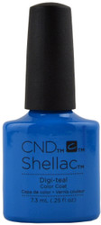 CND Shellac Digi-Teal (UV / LED Polish)
